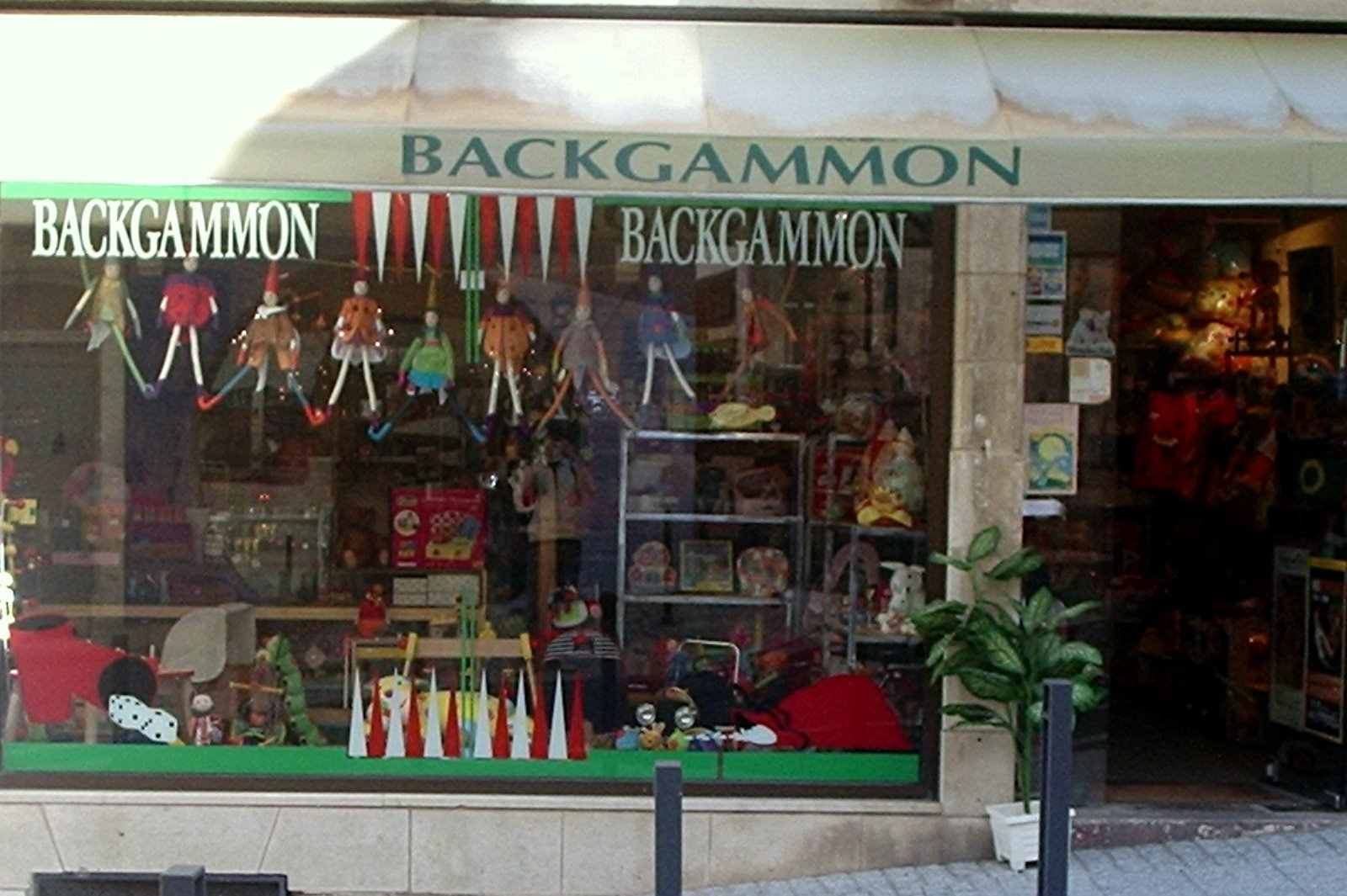 Backgammon à Biarritz