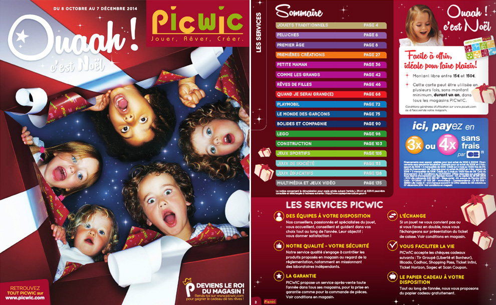 Catalogue Noel 2014 Picwic