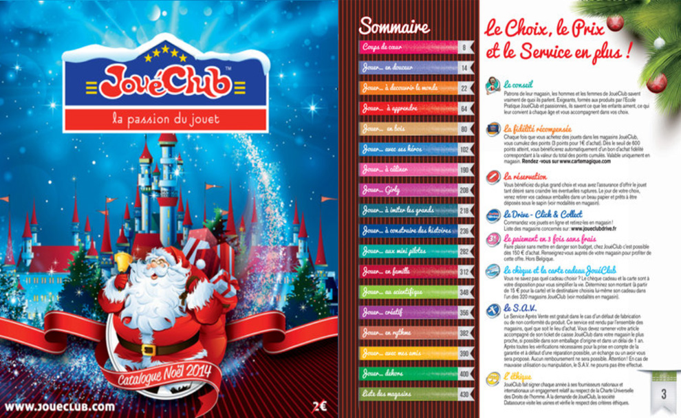 Joueclub Catalogue - Noel 2014
