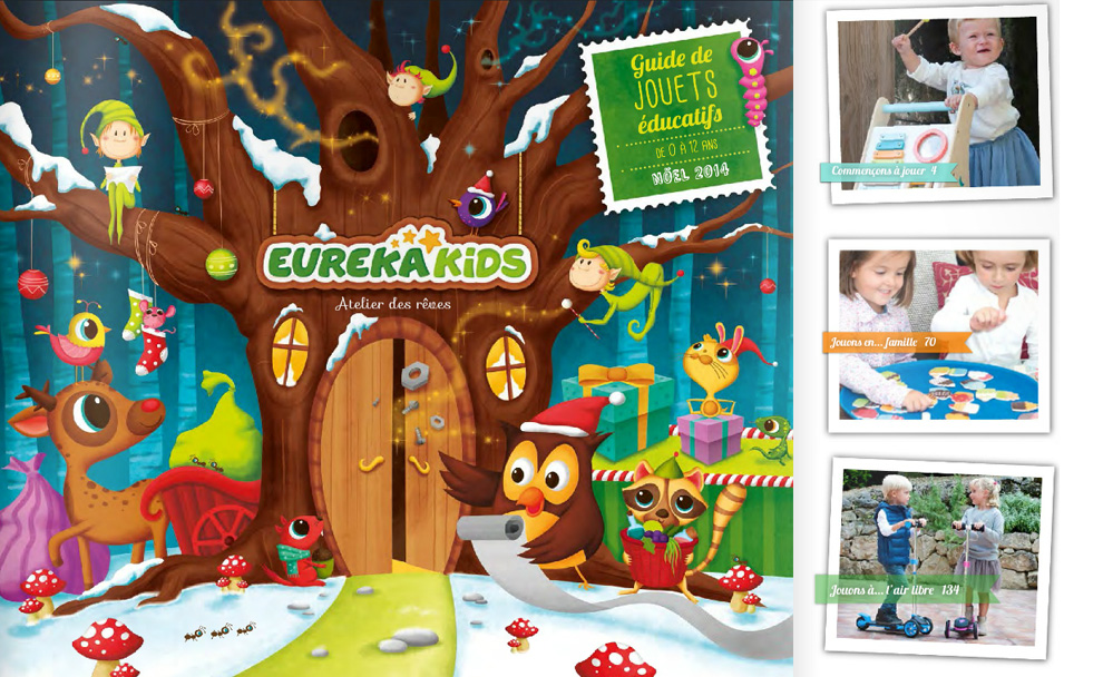 Catalogue Euraka Kids - Noel 2014