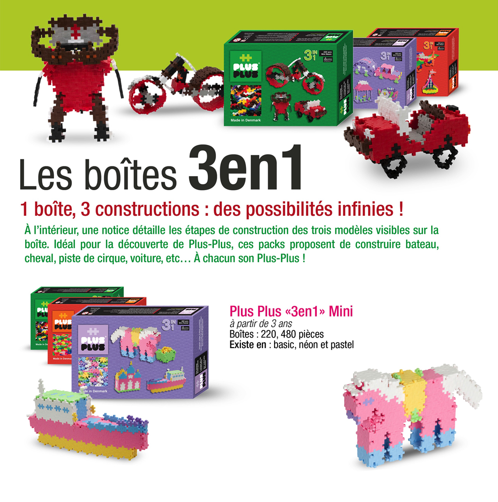 Plus Plus jeu de construction