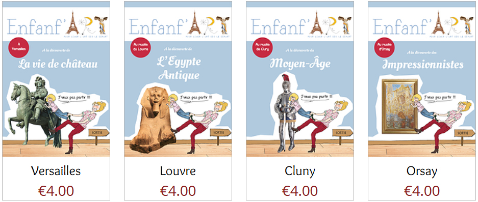 Collection Livrets Enfanf'Art